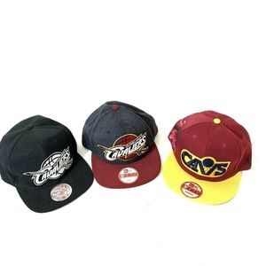 Cleveland Cavaliers Labron James Snapback Hats Lot